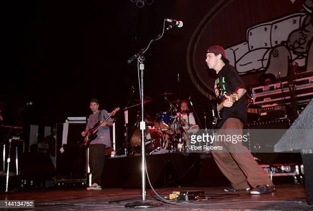 The Beastie Boys perform at Roseland in New York City on November 7 1992 LR Adam Yauch Adam Horvitz Mike Diamond