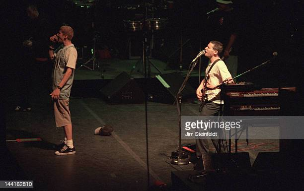 The Beastie Boys perform at The Target Center in Minneapolis Minnesota on May 21 1995