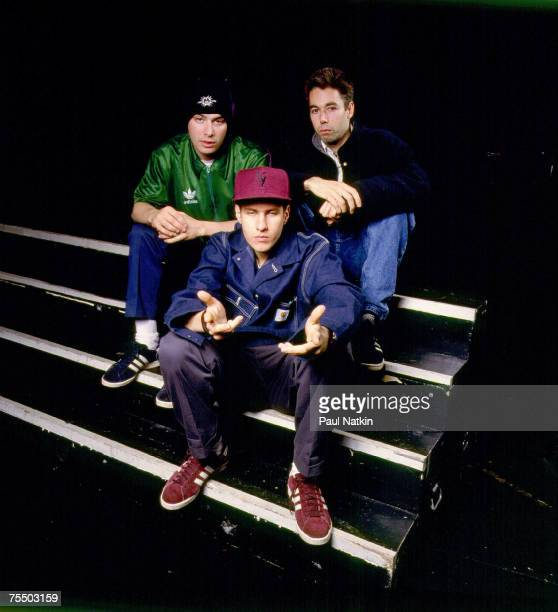 The Beastie Boys undated photo session in Various Locations