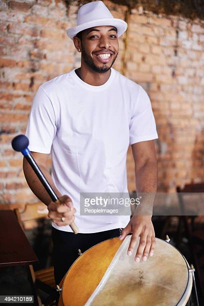 The beat of his drum will move you