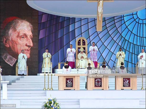 The Beatification of John Henry Newman by Pope Benedict XVI. 19 Sept. 2010, Cofton Park, Birmingham, UK.