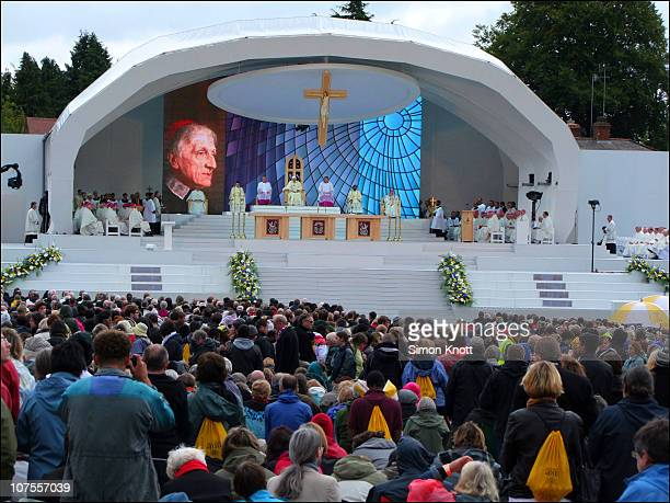 The Beatification of John Henry Newman by Pope Benedict XVI 19 Sept 2010 Cofton Park Birmingham UK