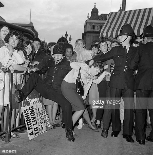 The Beatles A Hard Day's Night royal film premiere at the London Pavillion Theatre in Piccadilly Circus London July 1964