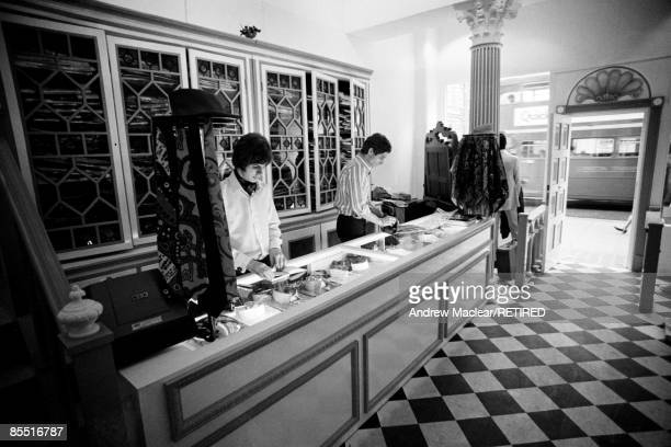 The Beatles' Apple boutique at 161 King's Road London It is called 'Civil and Theatrical Apple Tailoring by John Crittle'