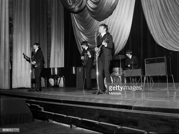 The Beatles backstage at The Regal in Cambridge 26th November 1963