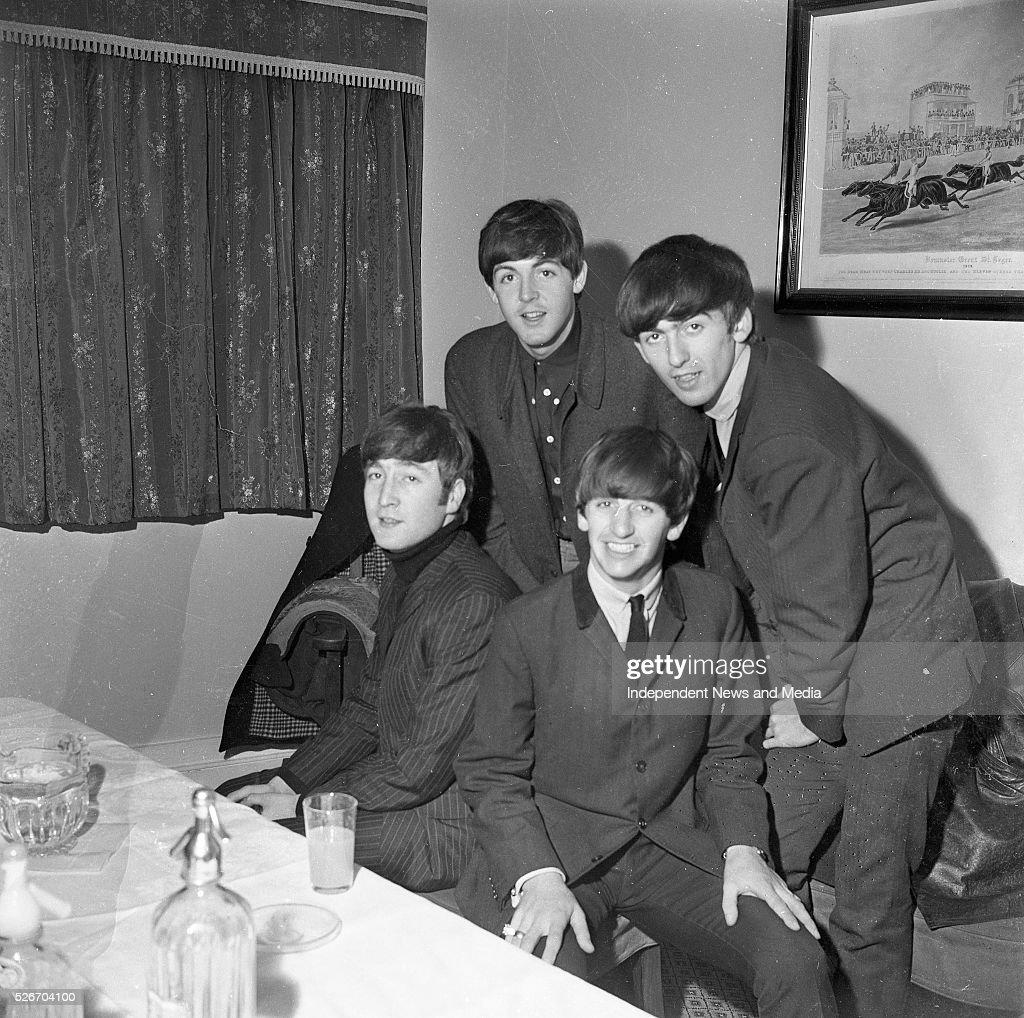 The Beatles Concert, Dublin 1963 : News Photo