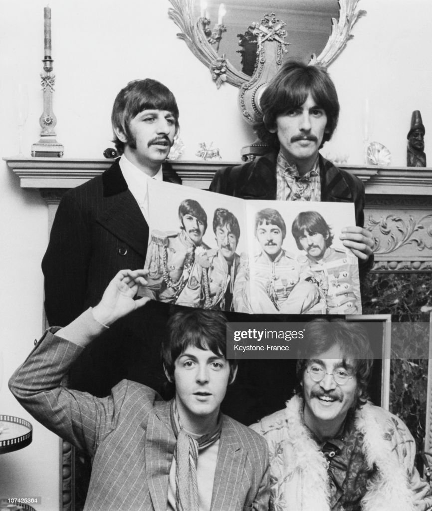 The Beatles During Sergeant Pepper S Lonely Hearts Club Band Release At London In England On May 20Th 1967