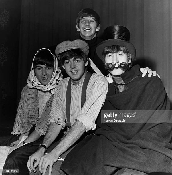 The Beatles in Costume