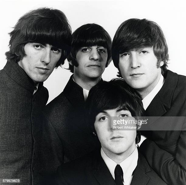 The Beatles in Tokyo during a mini-tour of Asia, 1966. The group played three nights in Tokyo, from 30th June to 2nd July. Left to right: George...