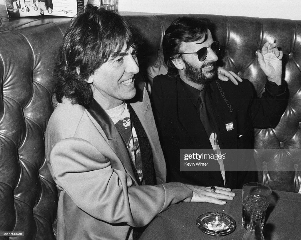George Harrison And Ringo Starr : News Photo