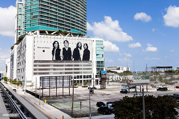 the beatles now on itunes - beatles miami stock pictures, royalty-free photos & images