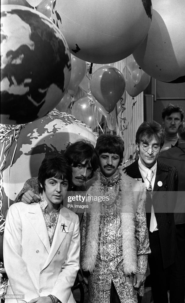 The Beatles L R Paul McCartney George Harrison Ringo Starr And John Lennon