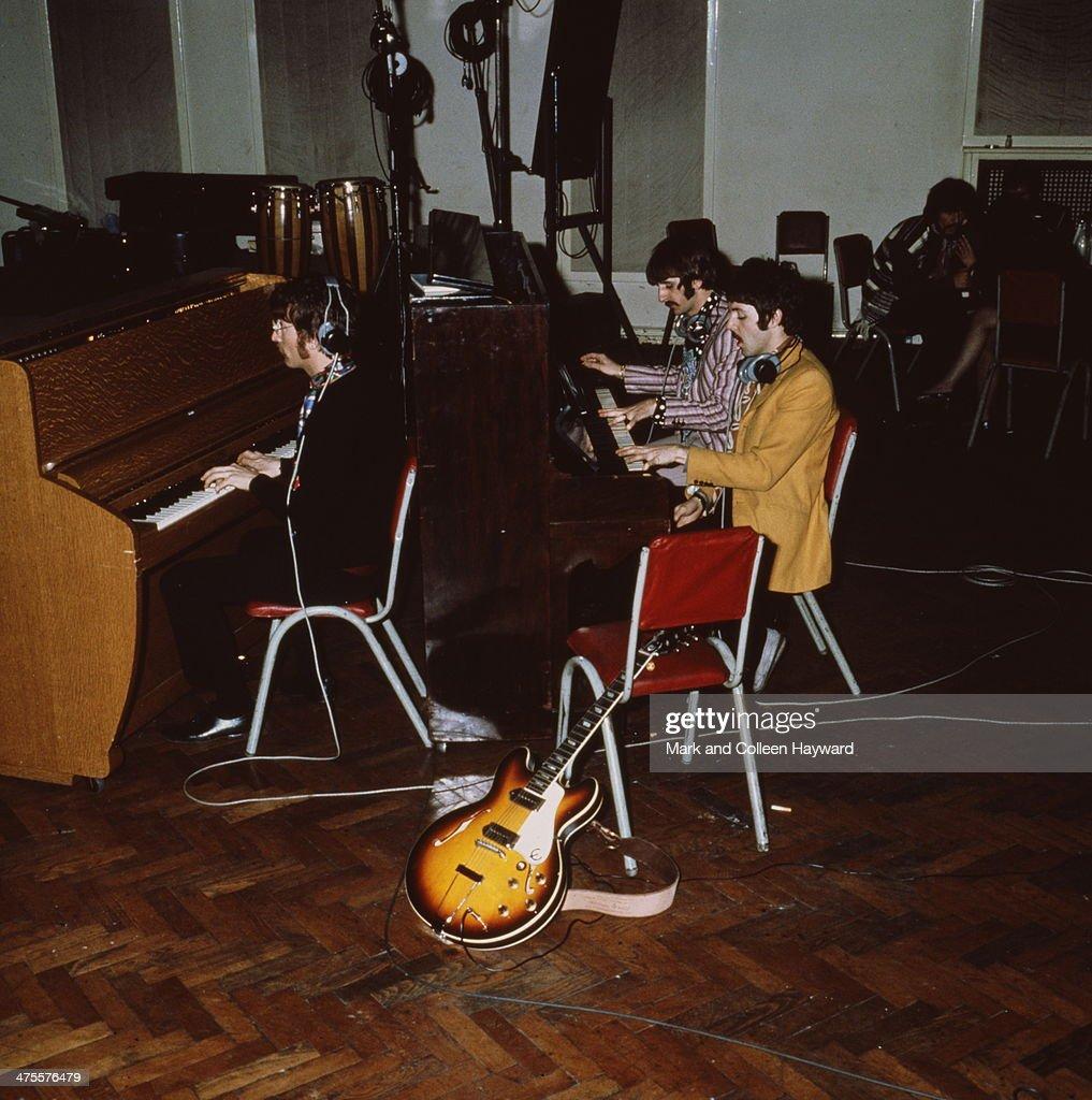 Beatles At Abbey Road : News Photo