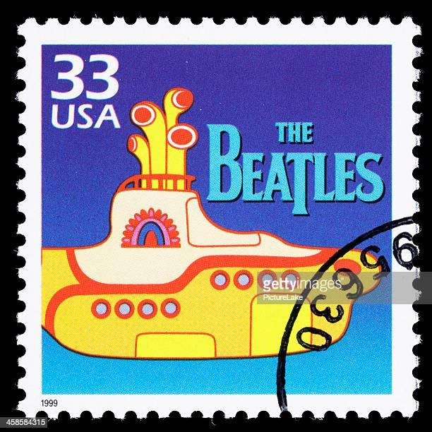 USA The Beatles postage stamp