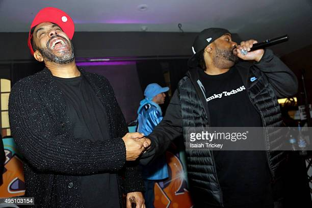 The Beatnuts and Lord Finesse perform at The Den At Nest on October 30 2015 in Toronto Canada