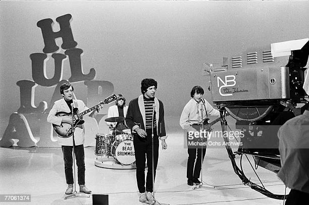 The Beau Brummels perform on 'Hullabaloo' at NBC's Studio 8H on September 27 in New York New York