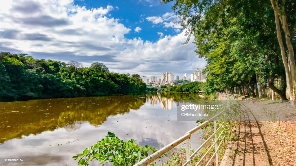 The beauties of the Piracicaba River. : Stock Photo