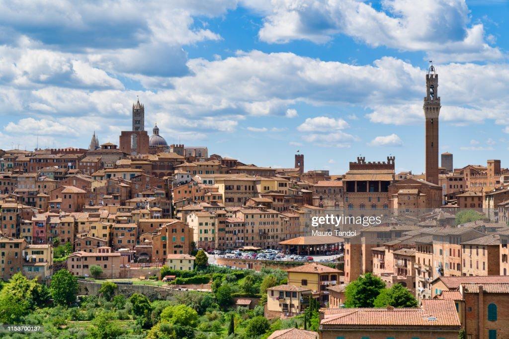 The beautiful city of Siena, Tuscany, Italy : Foto stock