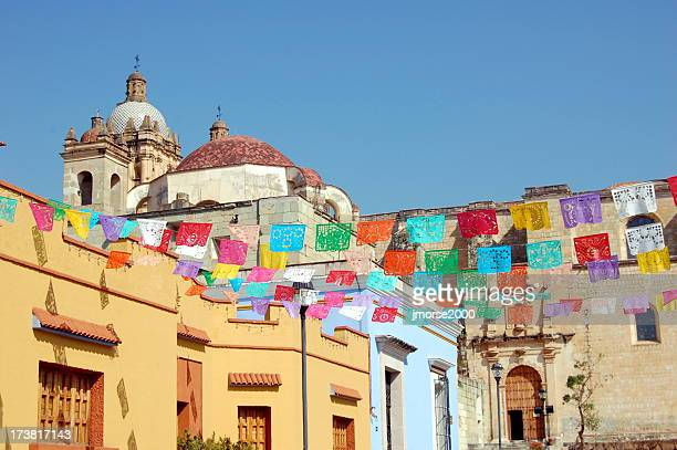 the beautiful, colorful city of oaxaca - oaxaca stock pictures, royalty-free photos & images