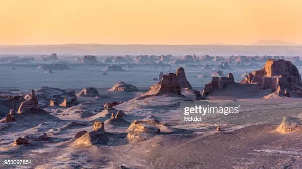 The Beautiful Landscape of Kaluts desert, Kerman province, Iran