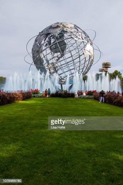 The beautiful landscape of Unisphere