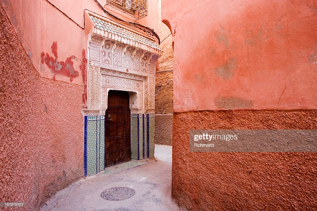The beautiful Medina of Marrakesh : Stock Photo
