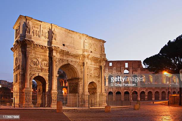 The Beautiful Monumental Arch of Constantine
