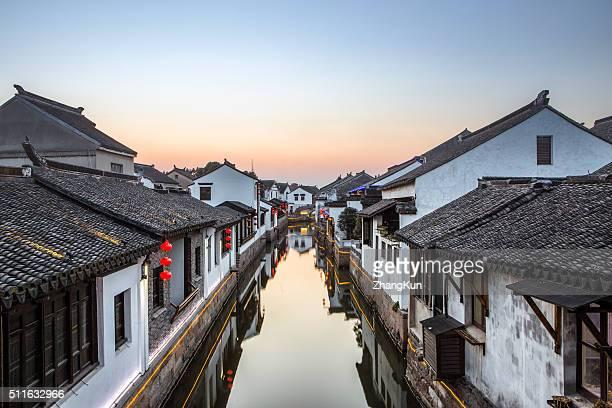 The beautiful scenery of the suzhou, China