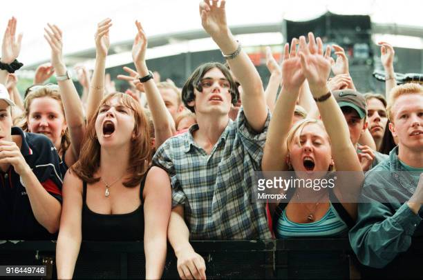 The Beautiful South performing live at the Alfred McAlpine Stadium 12th July 1997