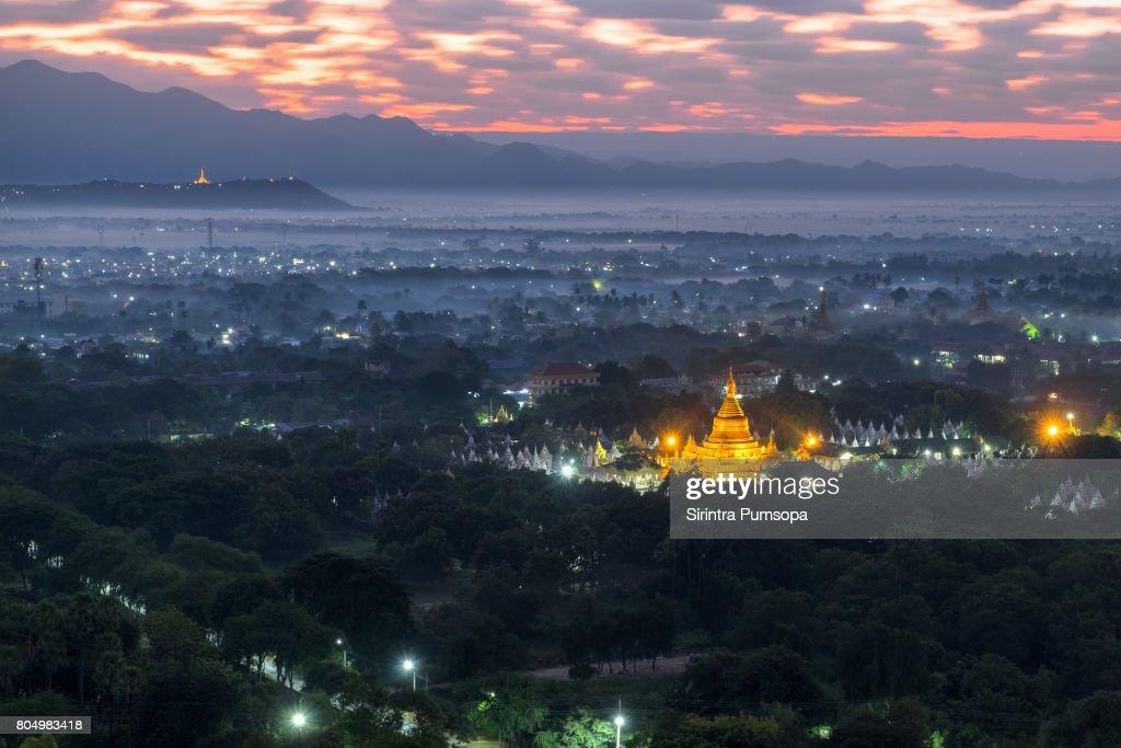 Mandalay Hill Night