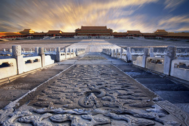 The beauty of Beijing the imperial palace