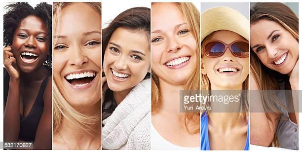 Die Schönheit Lachen