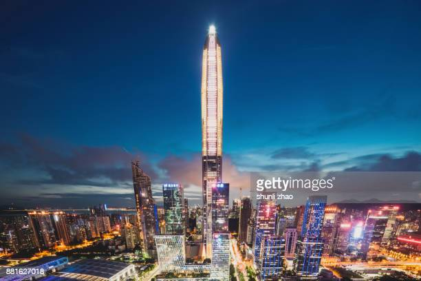 the beauty of shenzhen City centre