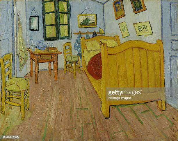 The bedroom 1888 Found in the collection of the Van Gogh Museum Amsterdam