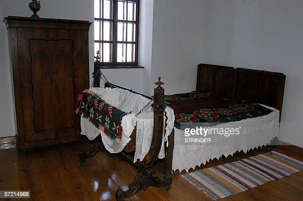 The bedroom Nikola Tesla is pictured in Gospic, 10 February 2006. Tesla was an ethnic Serb who was born in a Croatian province of the...