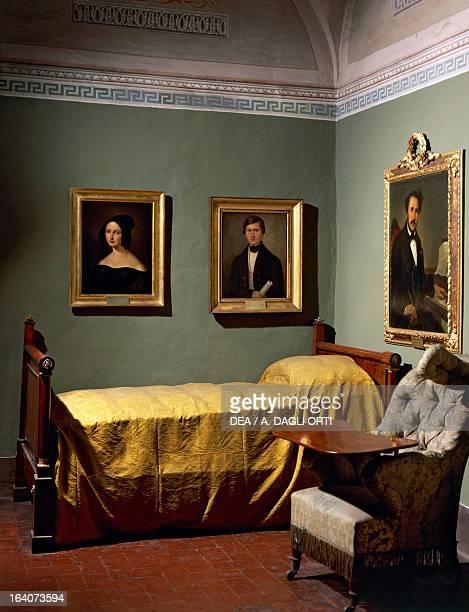 The bedroom of Gaetano Donizetti Donizetti Museum Bergamo Italy Bergamo Civico Museo Donizettiano