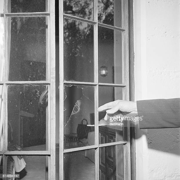 The bedroom window of actress Marilyn Monroe was broken by the doctor who found her dead from suicide The doctor had to break into the locked room...