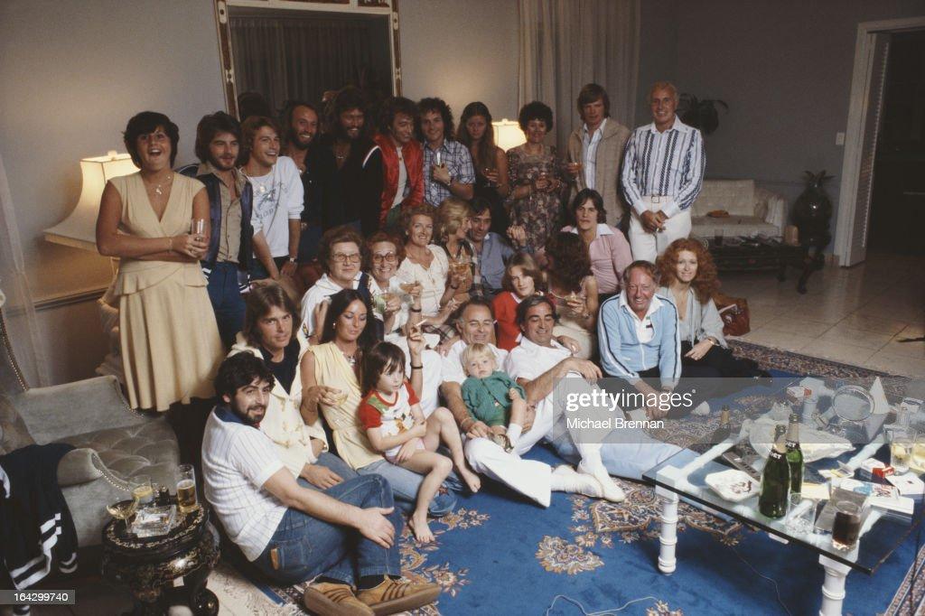 Gibb Family : News Photo
