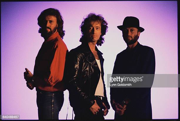 Barry Gibb Robin Gibb and Maurice Gibb