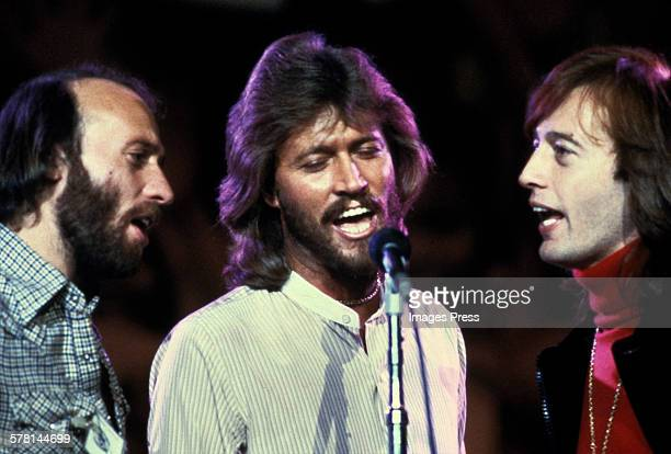 The Bee Gees circa 1970s in New York City