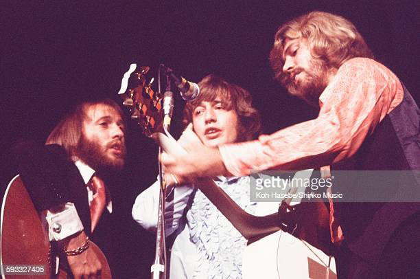The Bee Gees live at Shibuya Public Hall, Tokyo, March 23, 1972.
