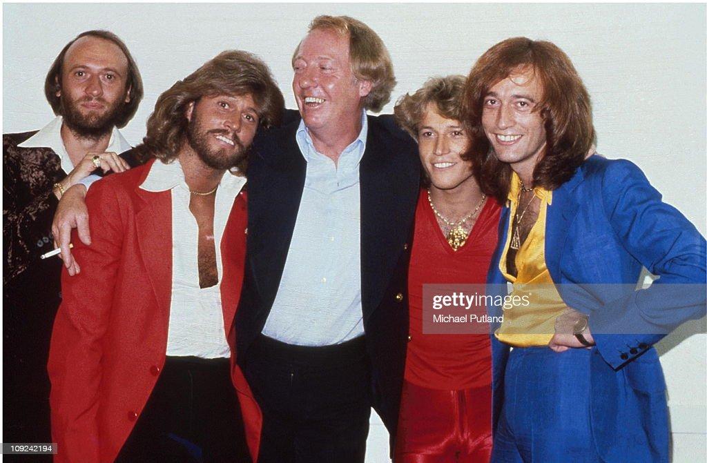 Stigwood With Bee Gees : Nachrichtenfoto