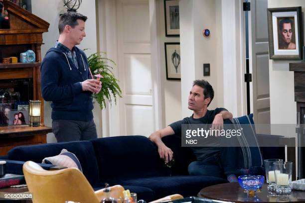 WILL GRACE The Beefcake and the Cake Beef Episode 114 Pictured Sean Hayes as Jack McFarland Eric McCormack as Will Truman