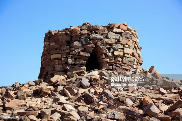 The Beehive Graves of Alayn Are Because of Her Good Condition and The Situation on The Edge of The Jebel Misht The Best Known Graves In The Area...