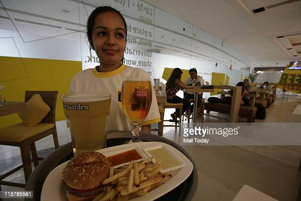 The Beer Cafe at Ambience Mall , Vasant Kunj.