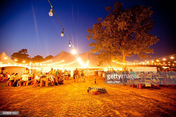 The Beer Garden at Bonnaroo