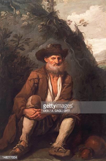 The beggar, by Antonio Carneo . ; Udine, Musei Civici E Galleria Di Storia E Arte Antica .