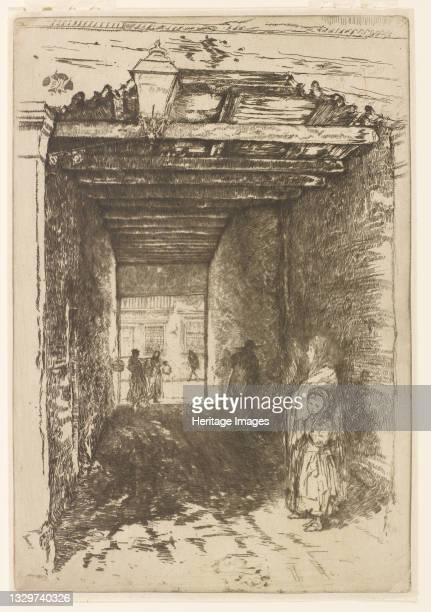 The Beggars, 1879-1880. Artist James Abbott McNeill Whistler.