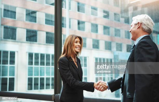 The beginning of a profitable working relationship