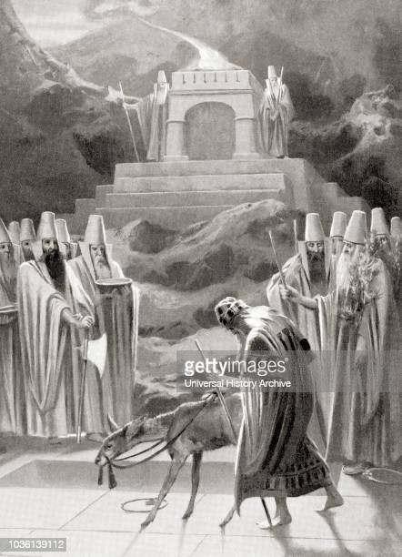 The beginnings of fireworship The ancient Aryans of Persia offered sacrifices at altars tended by firekindling priests known as athravan this led to...